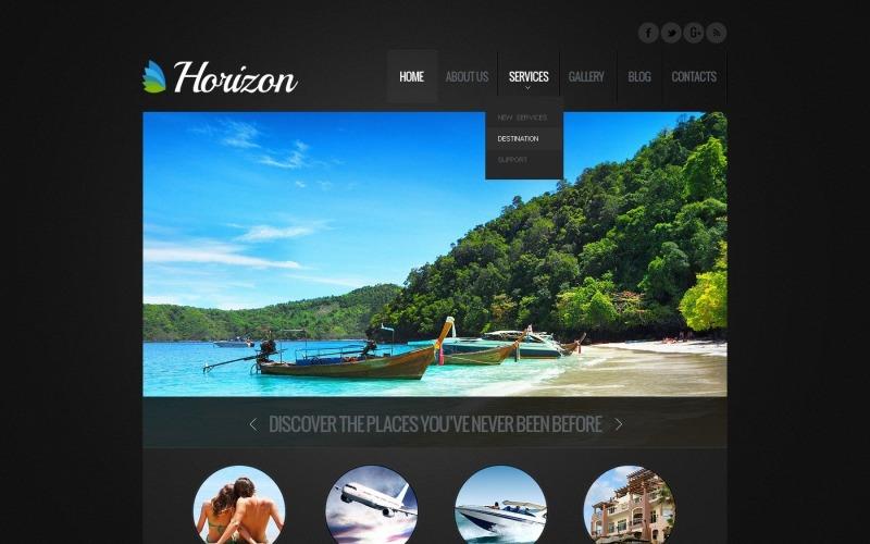 Ücretsiz Tur ve Seyahat Acentası WordPress Web Sitesi