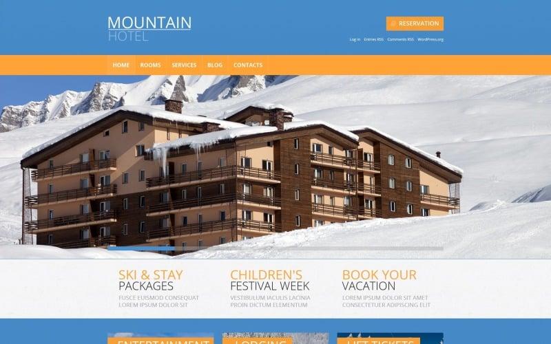 Бесплатная адаптивная тема WordPress для отелей