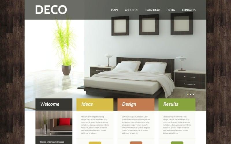 Free WordPress Theme for Interior Design Websites