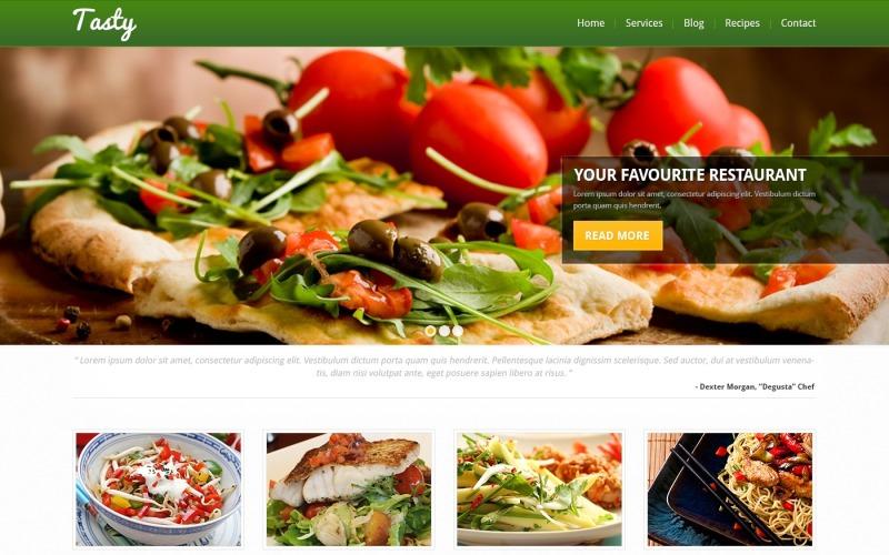 Ücretsiz Duyarlı Yemek Pişirme WordPress Teması