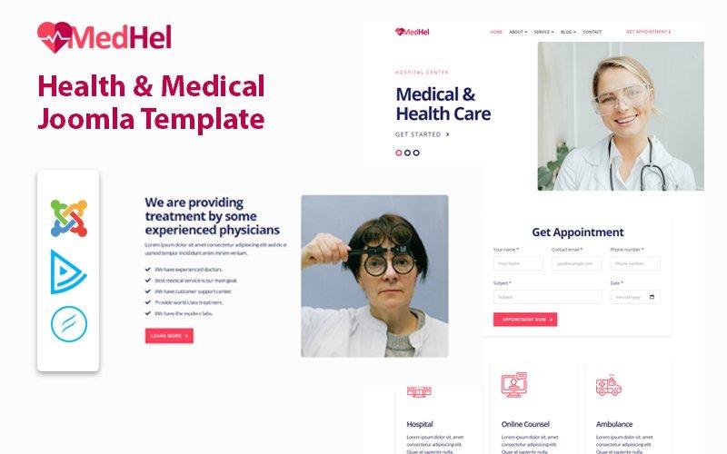 MedHel - Health & Medical Joomla Template