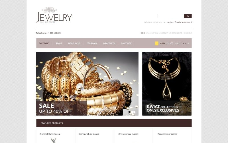 Free Accessories OpenCart Template