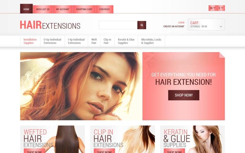 Free Beauty Salon OpenCart Template