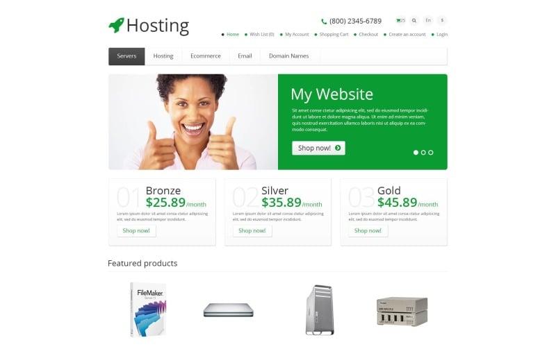 Free Hosting Responsive OpenCart Template