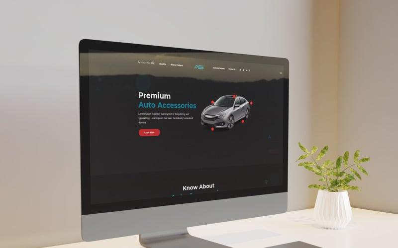 Rabbi | Cars Automobile Landing Page HTML5 Template