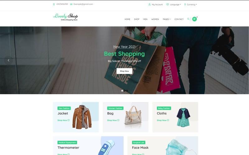 LovelyShop - WooCommerce WordPress Theme