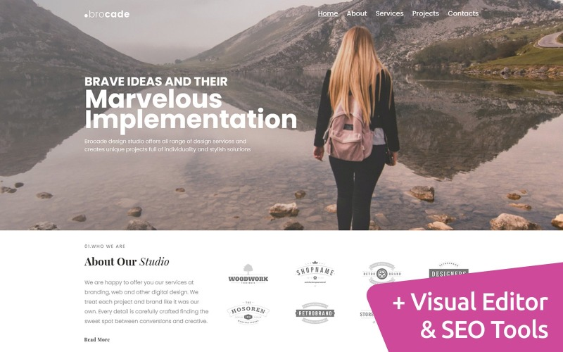 Studio de conception Conception de site Web MotoCMS