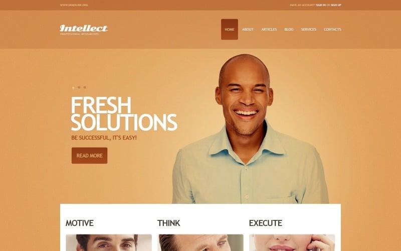 Free Bright Business WordPress Theme