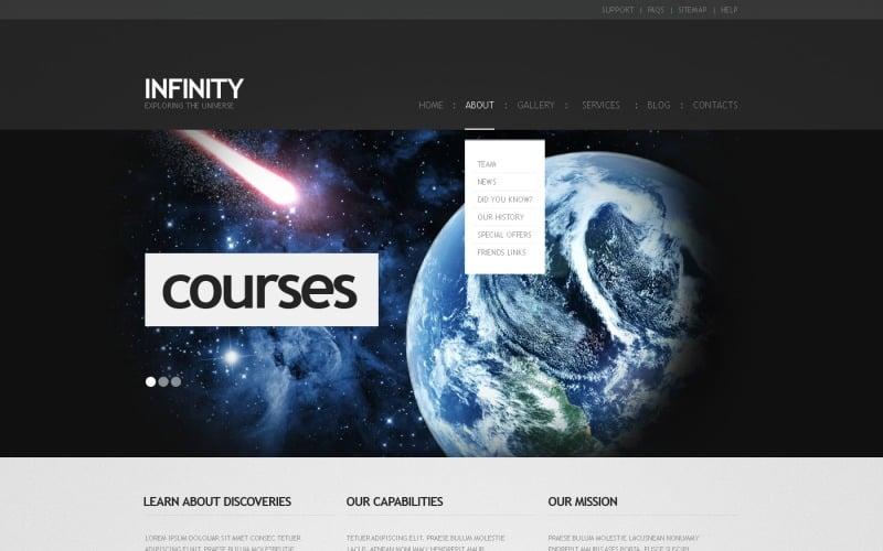 Free WordPress Astronomy Online Site