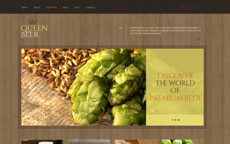 Ücretsiz Bira Fabrikası Duyarlı WordPress Teması