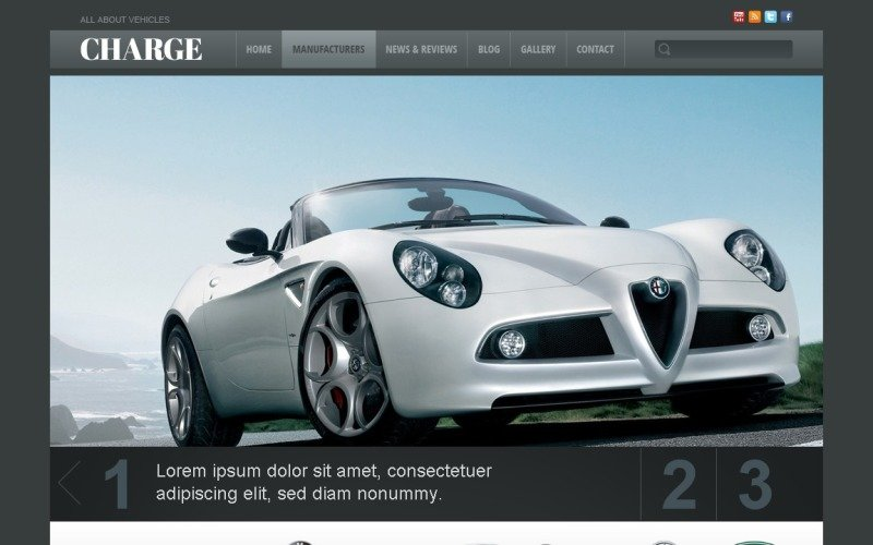 Free Car WordPress Theme to Develop Business