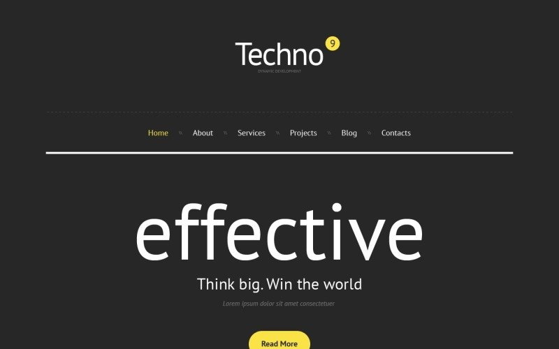 Free Consulting Agency WordPress Theme & Website Template