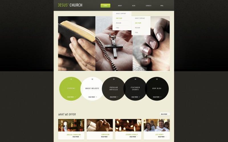 Free of Charge WordPress Christian Website