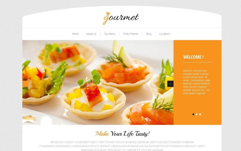 Ücretsiz Lezzetli Kafe WordPress Teması ve Web Sitesi Şablonu