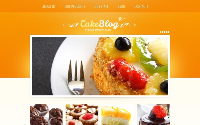 Ücretsiz Yemek ve Yemek WordPress Teması ve Web Sitesi Şablonu