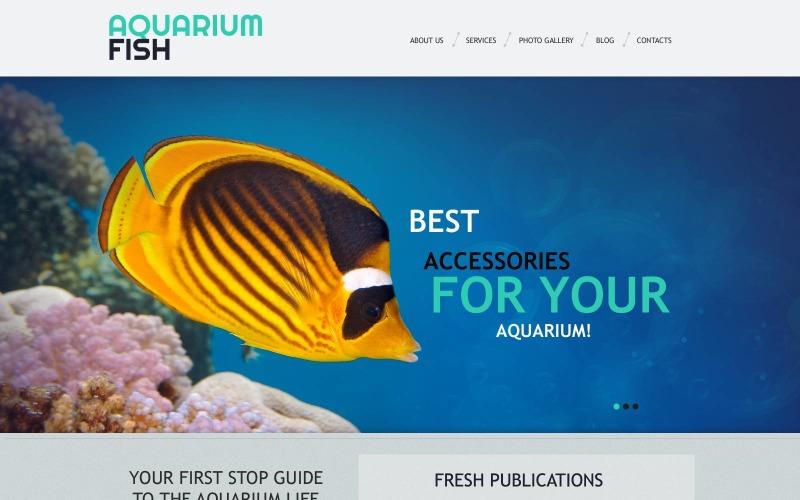 Ücretsiz Balık Duyarlı WordPress Düzeni ve Web Sitesi Şablonu