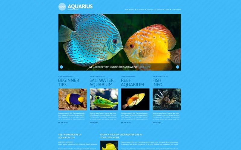 Ücretsiz Balık Duyarlı WordPress Teması ve Web Sitesi Şablonu
