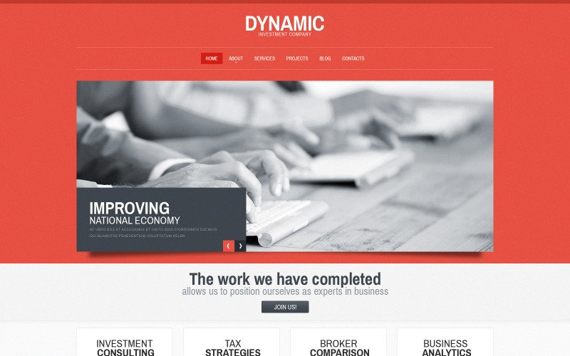 Free Harmonic Consulting WordPress Theme & Website Template