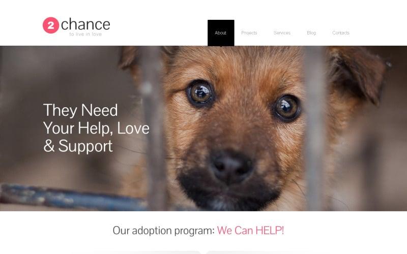 Free Impressive Animal Shelter WordPress Theme & Website Template