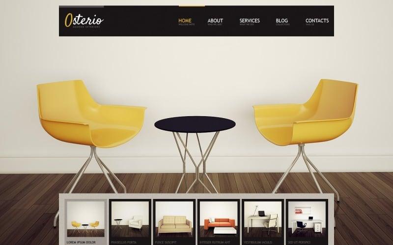 Free Interior Design Responsive WordPress Theme & Website Template