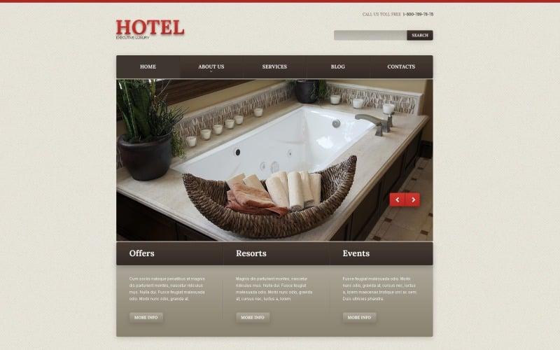 Ücretsiz Motel WordPress Web Sitesi Teması ve Şablonu