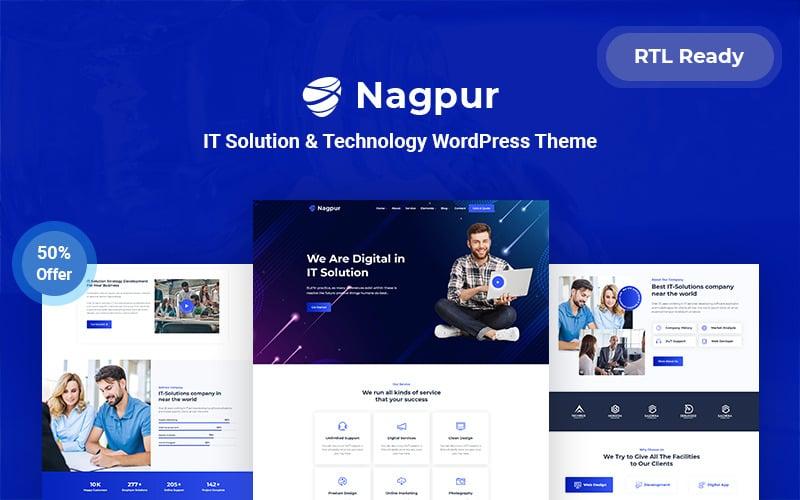Nagpur  IT Solution & Technology Responsive WordPress Theme