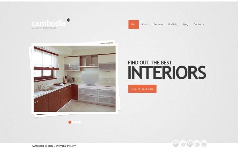 Free Home WordPress Website Multipurpose Theme & Template