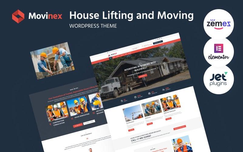 Movinex - House Lifting and Moving WordPress Theme