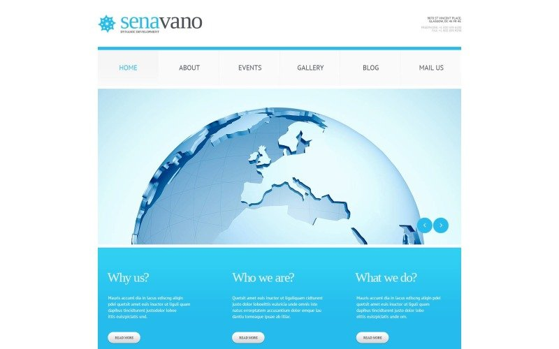 Free Marketing Services Template for WordPress