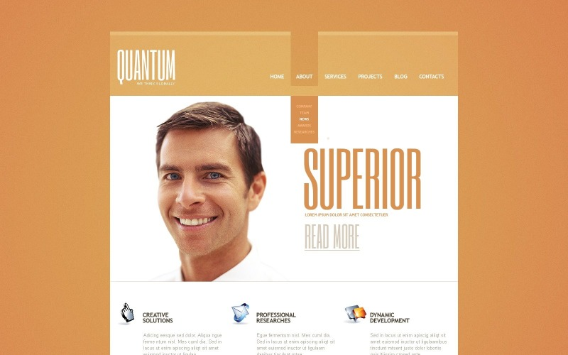 Free Positive Consulting Agency WordPress Theme