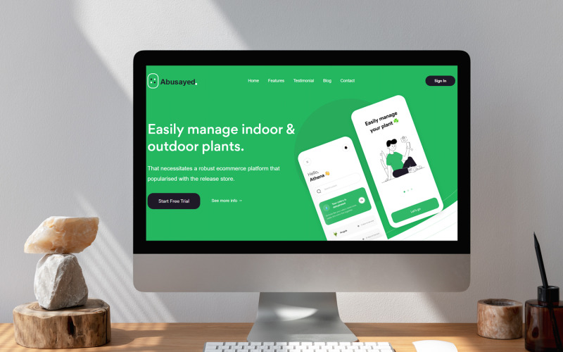 Abusayed - App Landing Page Template