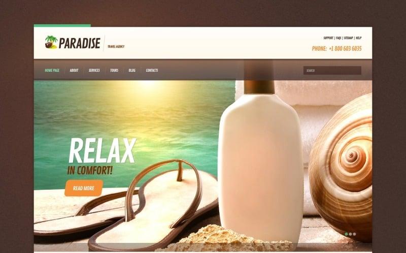 Seyahat Acentası Web Sitesi için Ücretsiz Duyarlı WordPress Teması