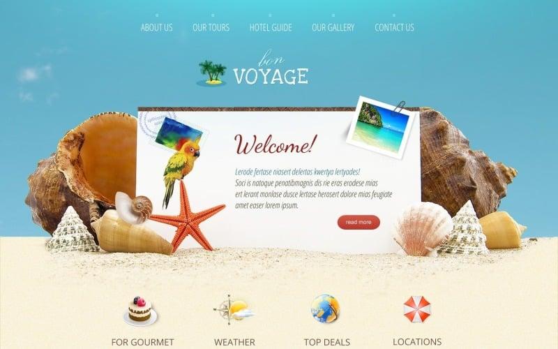 Ücretsiz Muhteşem Seyahat Acentası WordPress Teması