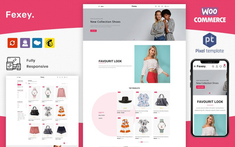 Fexey - Fashion WooCommerce WordPress Theme