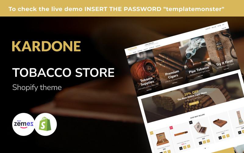 Kardone Tobacco Shop Shopify Theme