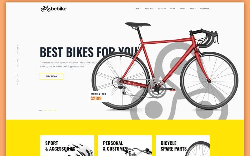 Bebike - Sport Bicycle Store WordPress Theme