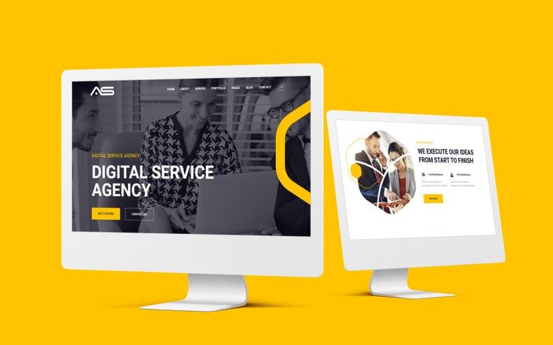 Bijugara - Digital Service Website Template