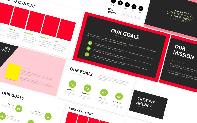 Creative Agency Company Powerpoint Template