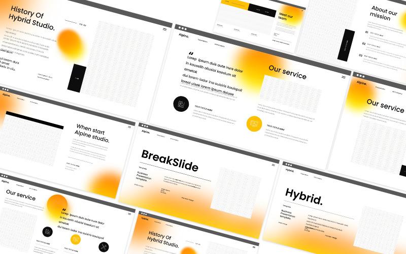 Hybrid Powerpoint Template