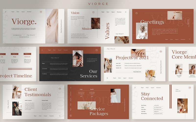 Viorge - Elegant Project Proposal Presentation