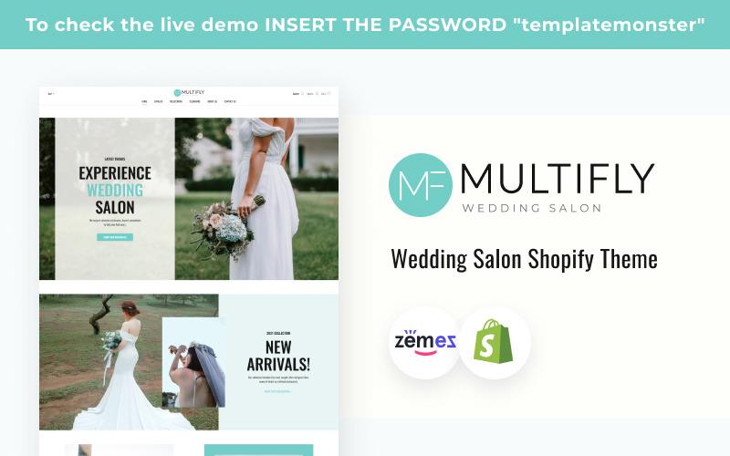 Multifly Wedding Salon Shopify Theme