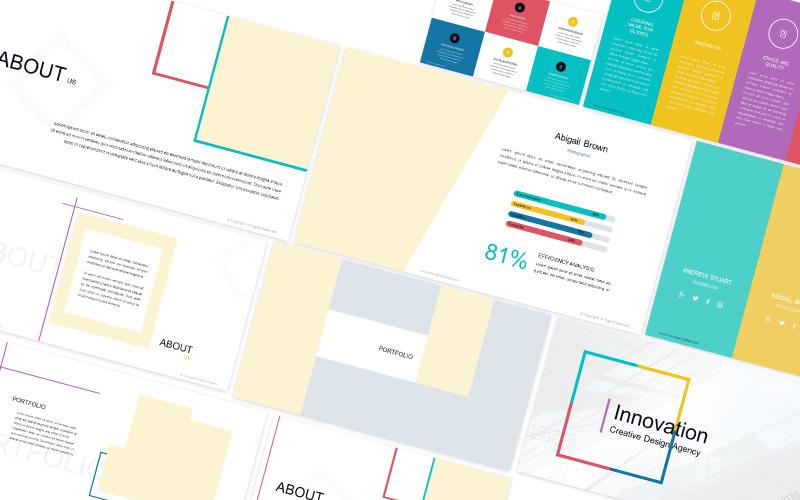 Innovation Creative Design Powerpoint Template