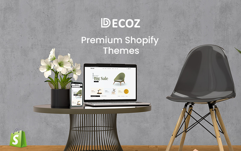 Decoz - тема Shopify Премиум Мебель
