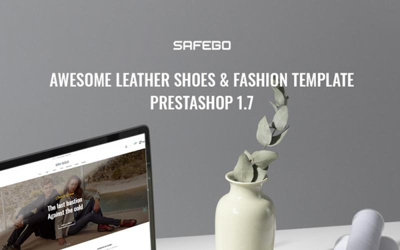 TM Safego - Chaussures Cuir Et Mode Thème Prestashop
