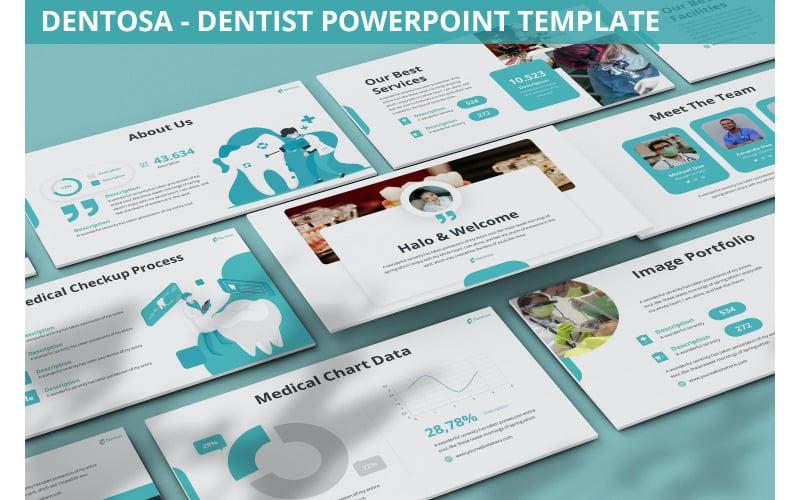 Dentosa - Шаблон PowerPoint для стоматолога