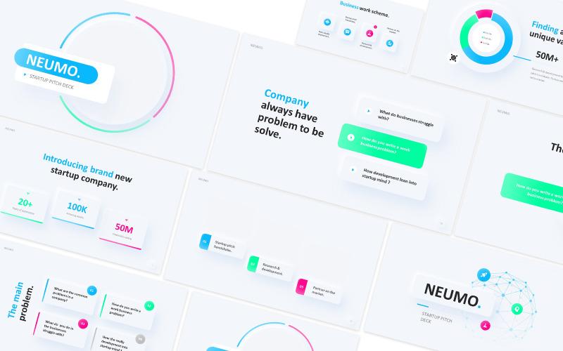 Modèle PowerPoint de Neumo