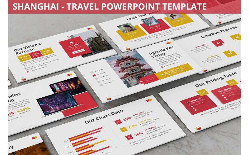 Шанхай - Шаблон PowerPoint для путешествий