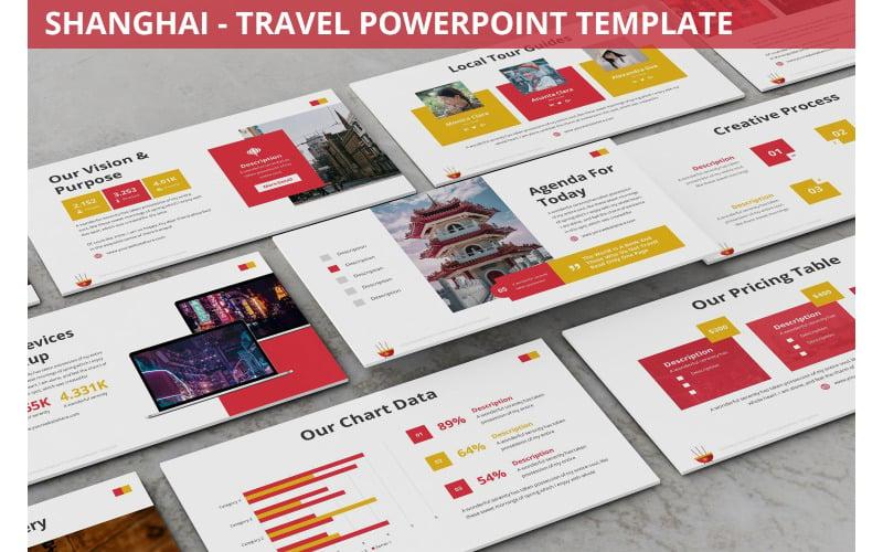 Shanghai - Reise-Powerpoint-Vorlage