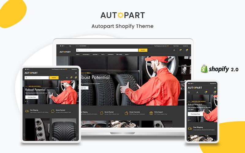 Autopart - Тема Shopify Autopart & Accessories