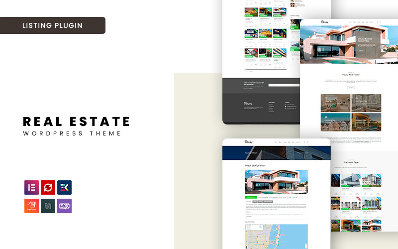 Housey - Immobilien-WordPress-Theme